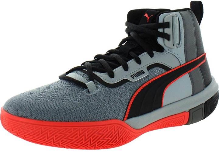 PUMA Mens Legacy Disrupt Basketball Casual Shoes