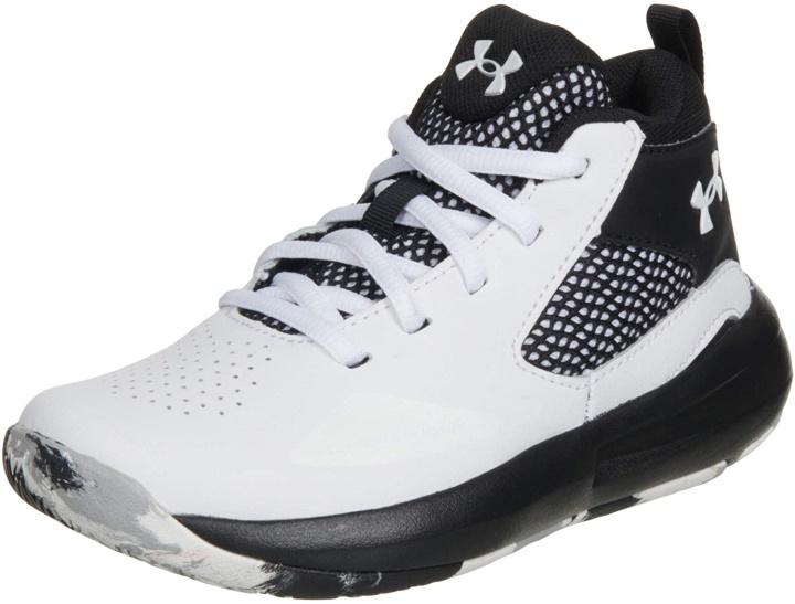 Under Armour Unisex Child Pre School Lockdown 5 Basketball Shoe