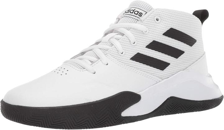 adidas Unisex Child Ownthegame Wide Basketball Shoe 6