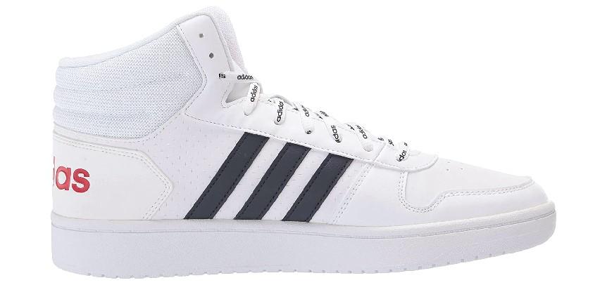 Adidas Men's Hoops 2.0 Mid Basketball Shoe (2)